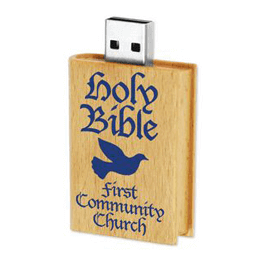 Holy Bible USB flash drive